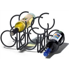 Euro 5 Bottle Tabletop Wine Rack