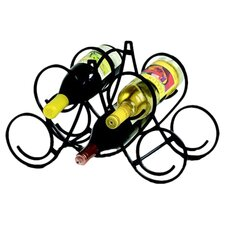 Bordeaux 5 Bottle Tabletop Wine Rack
