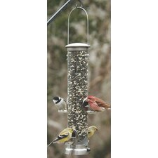 Quick-Clean Medium Seed Tube Feeder in Nickel
