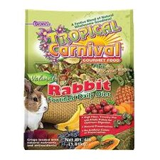 Tropical Carnival Natural Rabbit Food - 4 lbs