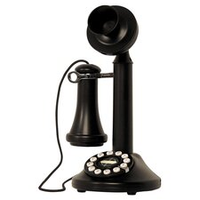 Candlestick Phone in Black