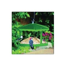 Fly - Thru Gazebo Bird Feeder in Green