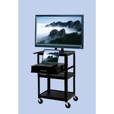 "TV Cart  with Storage Cabinet for up to 32"" Flat Panel TVs"