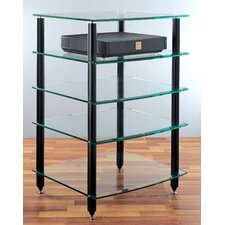 AGR Series 5-Shelf Audio Rack