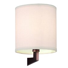 Fisher Island Organic Modern Shade in Ivory Fabric