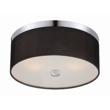 Fishnet 2 Light Flush Mount