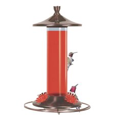 Brushed Metal Feeder