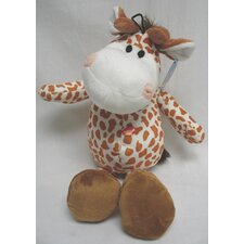 Plush Wild Giraffe Dog Toy