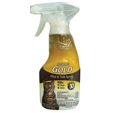 8 oz. Gold Flea and Tick Cat Spray