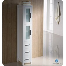 Bari Torino Bathroom Linen Side Cabinet