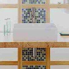 Rectangular Bathroom Sinks on Semplice Rectangular Vessel Bathroom Sink