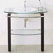 L' Expression Minimalist Table and Bathroom Sink