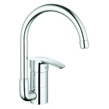 Eurostyle One Handle Single Hole Kitchen Faucet with Watercare