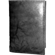 Leather ID Triifold Wallet