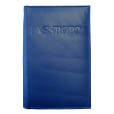 Leather Colored Passport Holders Wallet