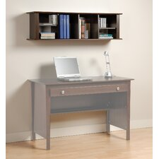 "Belcarra Contemporary 13"" H x 48"" W Desk Hutch"