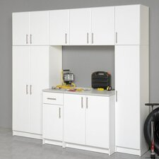Elite Garage/Laundry Room Topper & Wall Cabinet with 1 Door