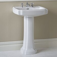 Guinevere Pedestal Bathroom Sink Set