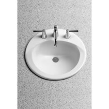 Ultimate Self Rimming Bathroom Sink with SanaGloss Glazing
