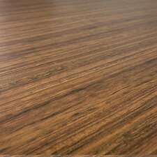 SAMPLE - 12 mm Narrow Board Laminate with Underlayment in Tropical Teak