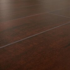 SAMPLE - 12 mm Narrow Board Laminate with Underlayment in Peruvian Rosewood