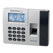 Time/Attendance System, Battery Backup Memory, Gray/Black