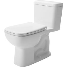 D-Code 1.28 GPF Elongated 1 Piece Toilet