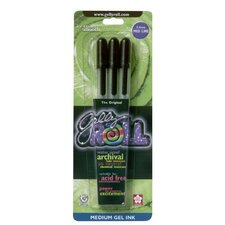 Gelly Roll Medium Point Gel Pen (Set of 3)