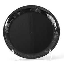 "Designerware 9"" Plastic Plate in Black"