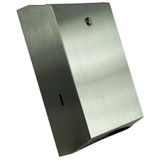 C-Fold Towel Dispenser in Satin Stainless Steel