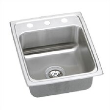 "Lustertone 17"" x 20"" Gourmet Kitchen Sink"