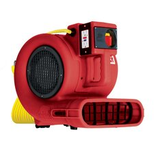 """Daisy Chainable"" Air Mover / Blower and Dryer in Red"