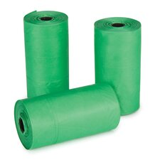 Replacement Pet Waste Bags in Green