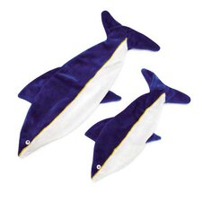 Maritime Unstuffed Shark Dog Toy