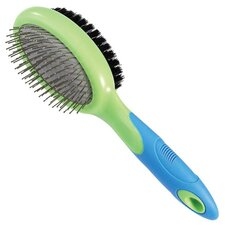 Combo Pet Brush Bristle/Pin