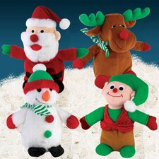 "11"" Holiday Friend Dog Toy"