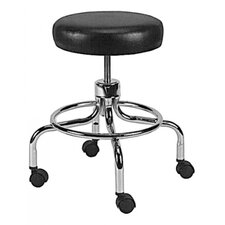 Grafco Deluxe Revolving Stool with Foot Ring