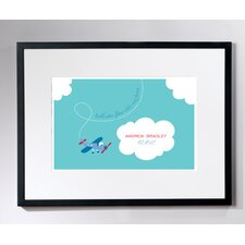Personalized Tiny Skywriter Wall Décor