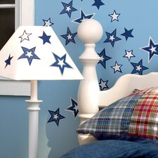 Glowing Stars Wallpaper Cutouts