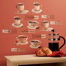 Fresh Brew Wall Art Vinyl Peel and Stick