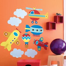 Up, Up and Away Wallpaper Mural