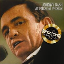 Rediscover Johnny Cash- Live at Folsom Prison Jigsaw Puzzle