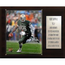 NCAA Football Baylor Bears Career Stat Plaque