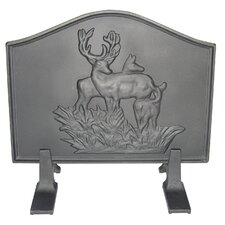 Deer Cast Iron Fireback