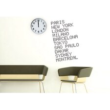 Blabla Airport Wall Decal