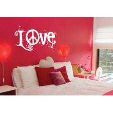 Blabla Peace and Love Wall Decal
