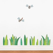 Ludo Grass Wall Stickerl