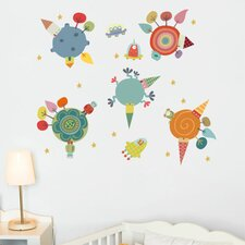 Piccolo Planets Wall Sticker