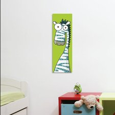 Canvas Zebra Wall Decal