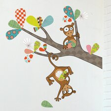 Ludo Monkey Business Wall Decal